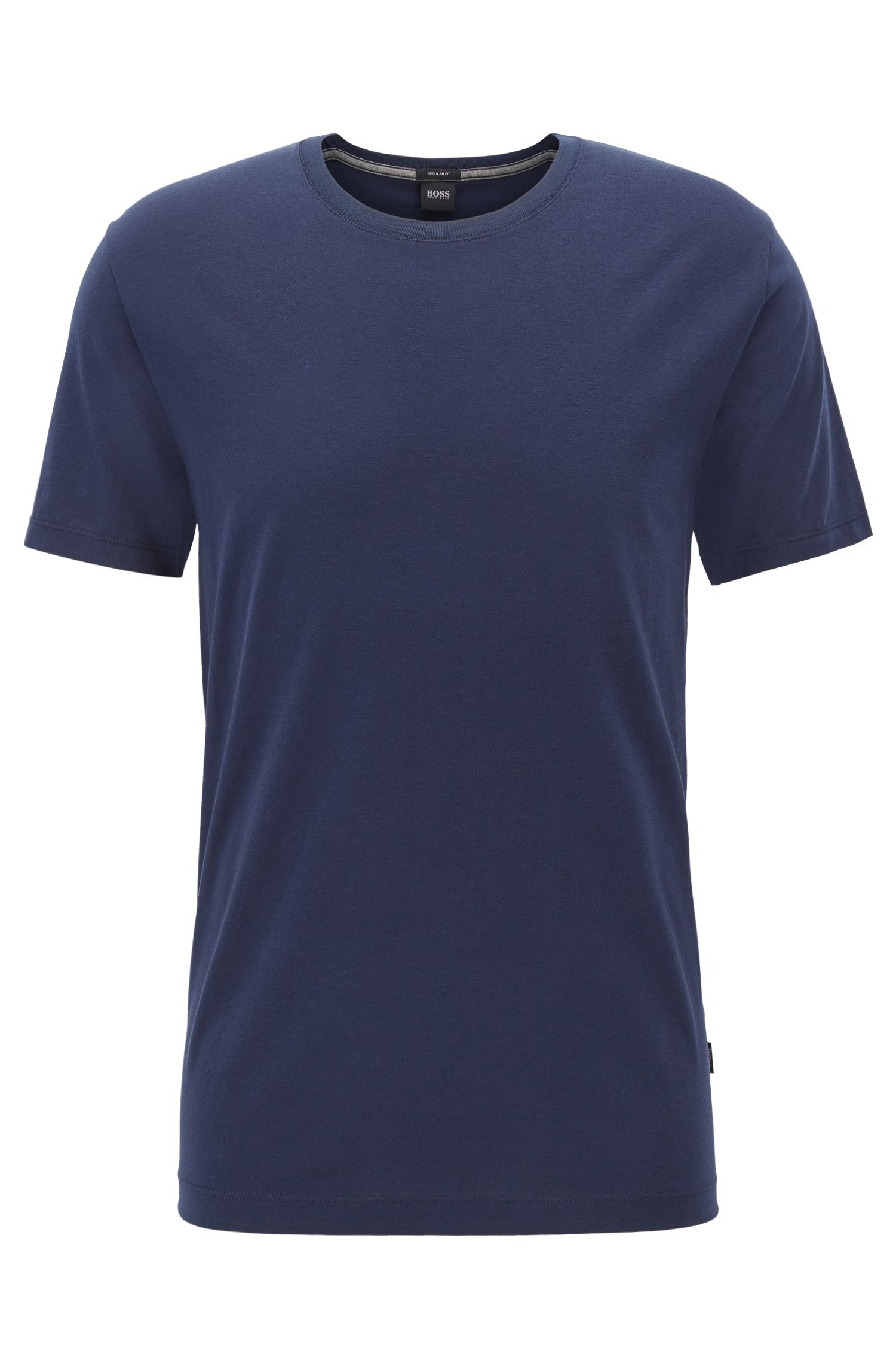 T-shirt regular fit in morbido cotone