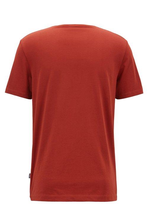 Hugo Boss - Regular-Fit T-Shirt aus weicher Baumwolle - 3