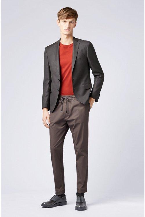 Hugo Boss - Regular-Fit T-Shirt aus weicher Baumwolle - 2