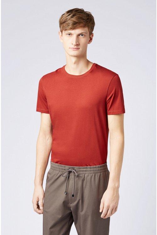 Hugo Boss - Regular-Fit T-Shirt aus weicher Baumwolle - 4