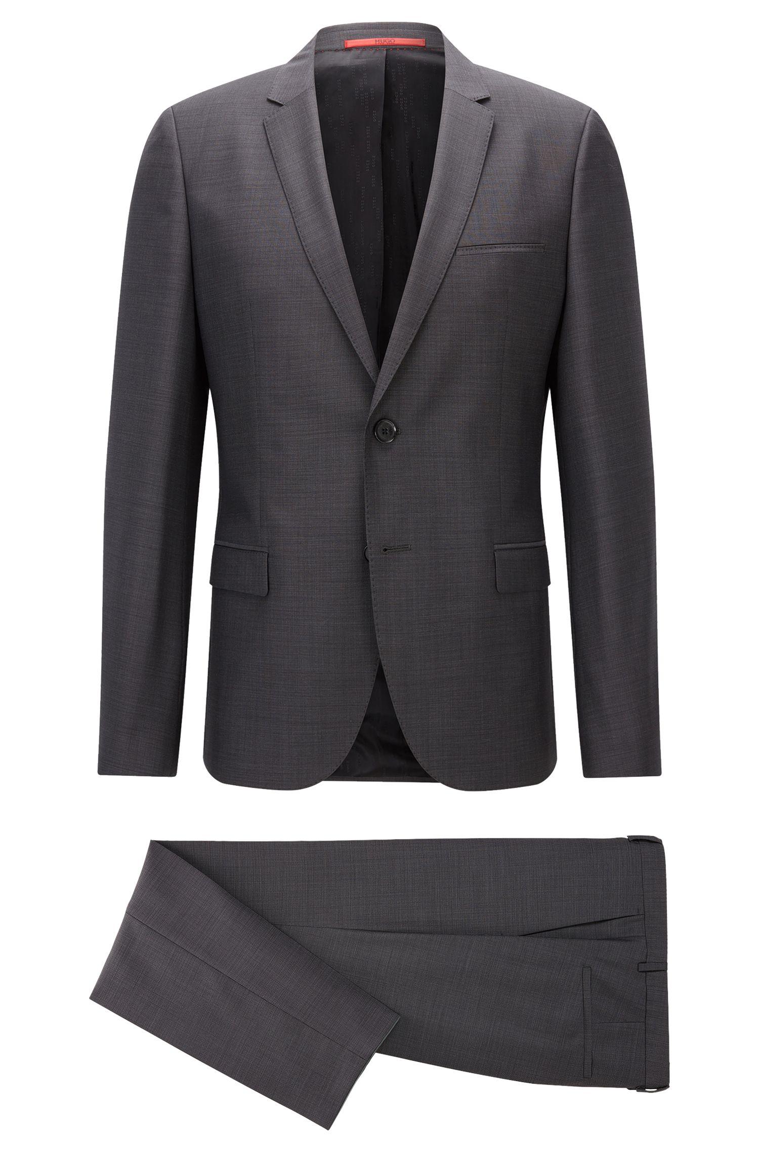 """Extra Slim-Fit Anzug aus """"Super 100""""-Schurwolle"""