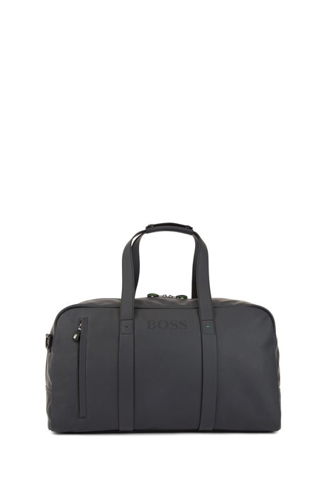 36360313cfc BOSS - Holdall in rubberised technical fabric