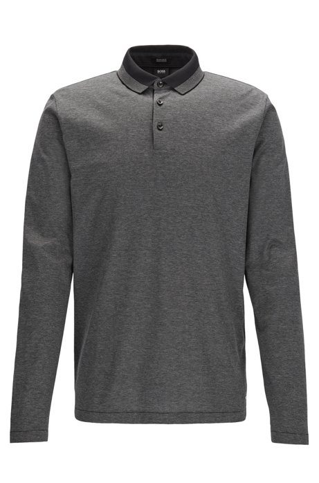 Regular-fit knitted jacket in mercerised cotton BOSS Discounts Cheap Online YPINpVhl