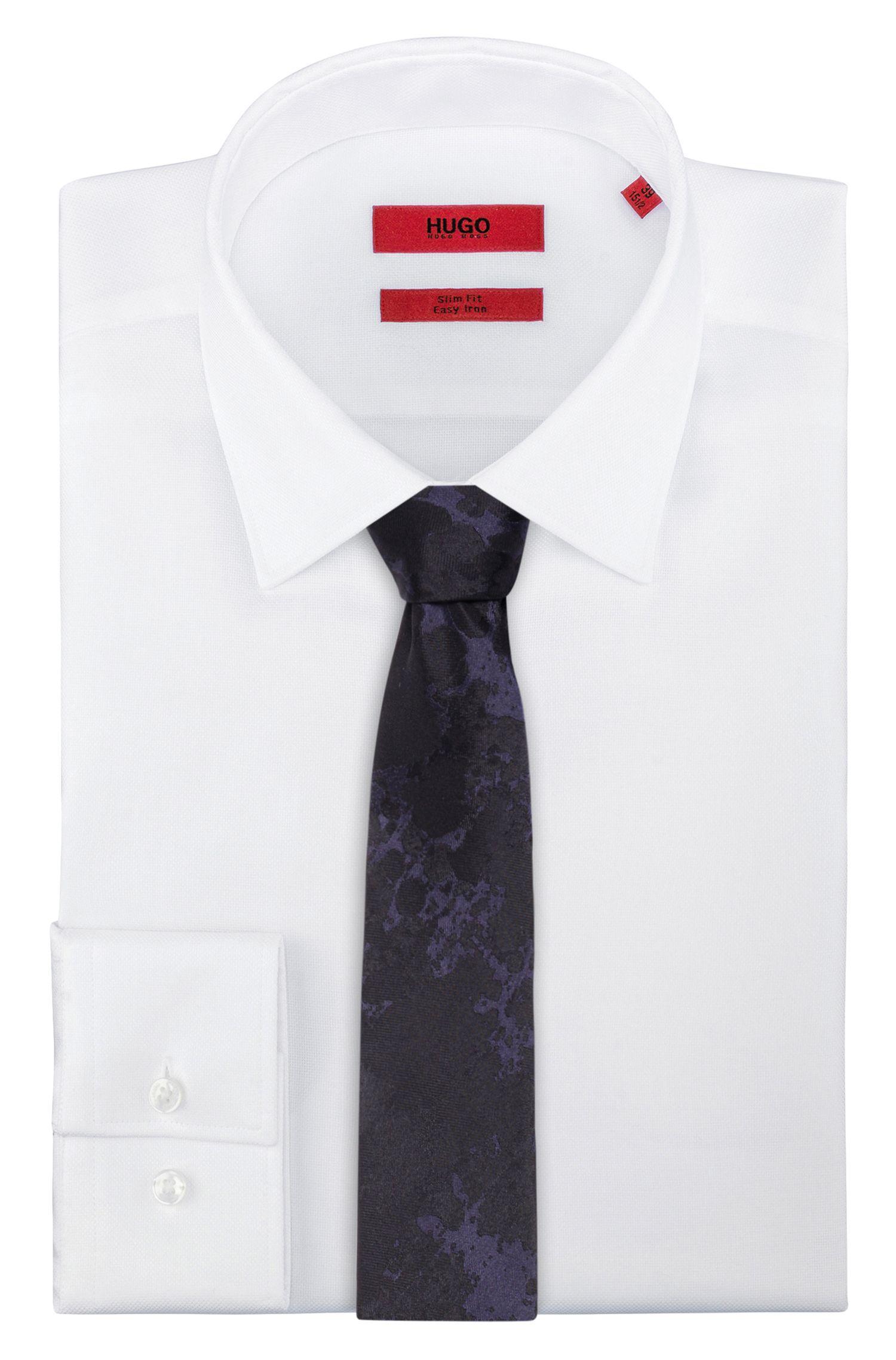 Cravate jacquard en soie
