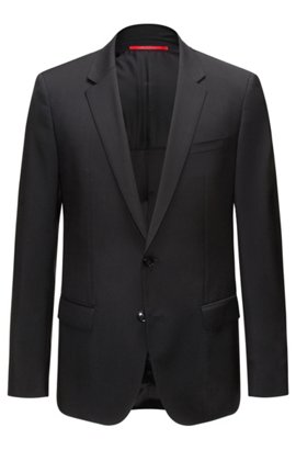 les vestes de costumes raffin es hugo boss pour homme. Black Bedroom Furniture Sets. Home Design Ideas
