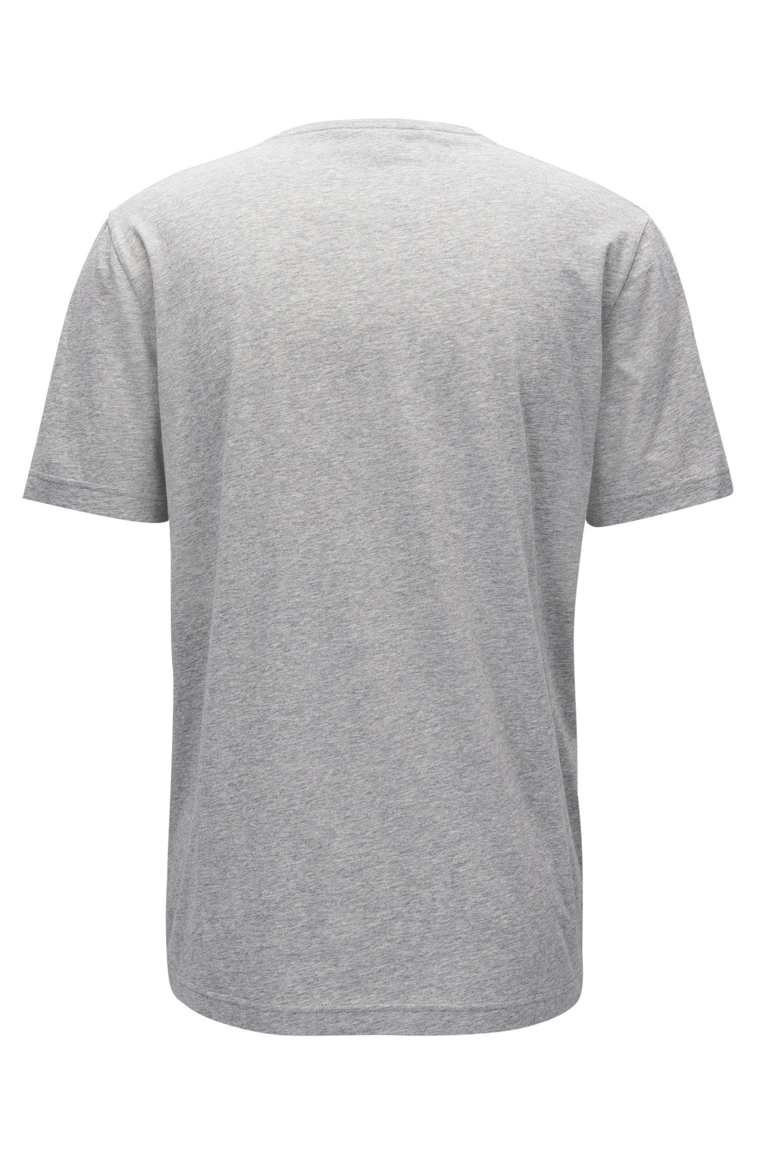 Slim-fit T-shirt van zachte katoen met logo