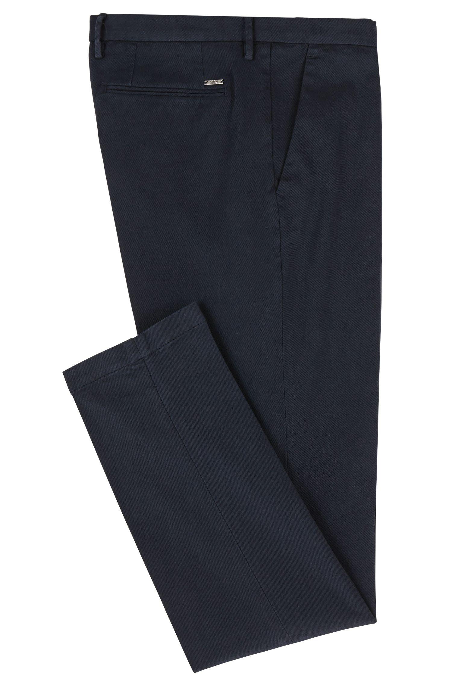 Chino slim fit in cotone elasticizzato italiano
