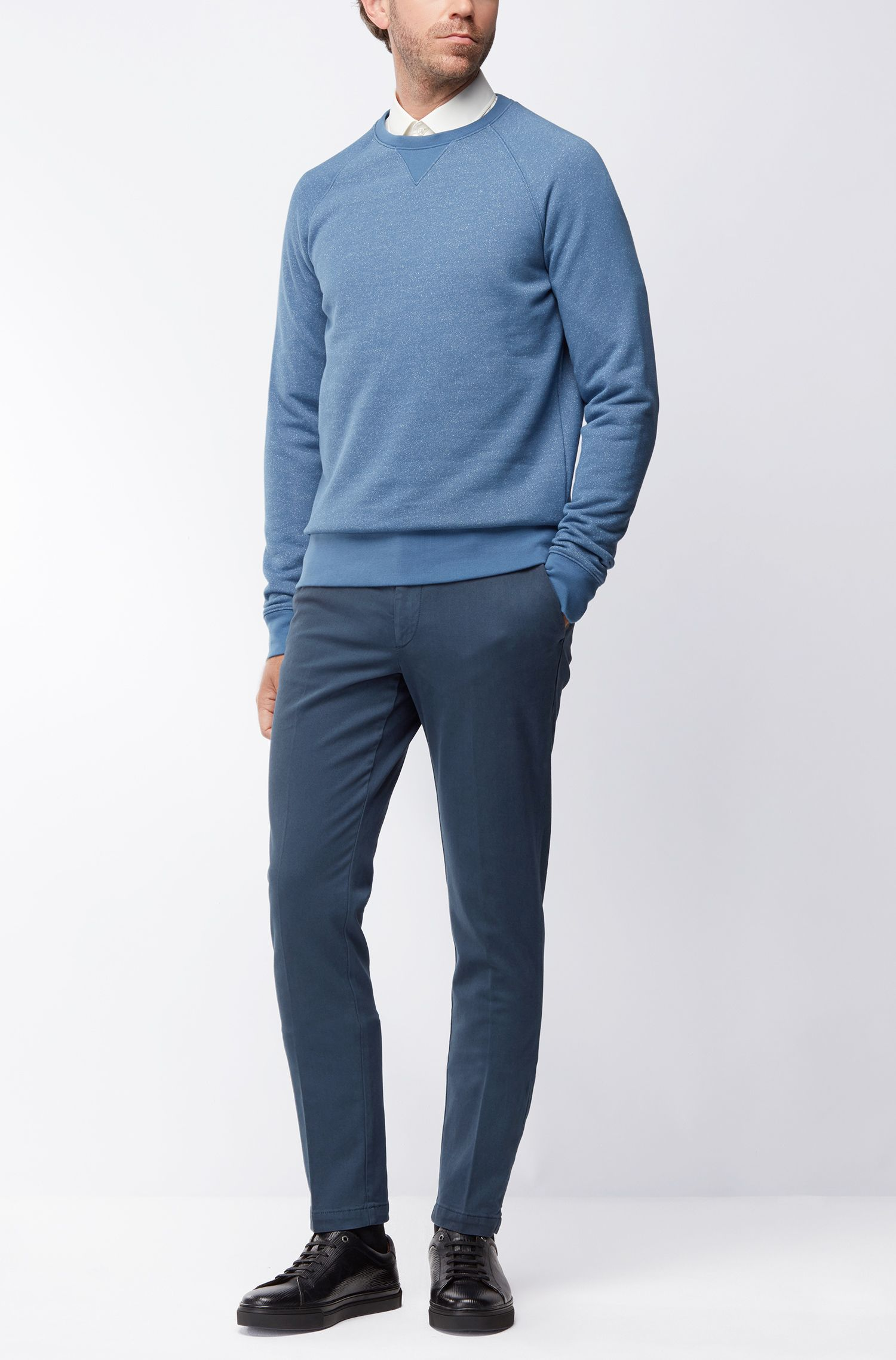 Chino Slim Fit en coton italien stretch