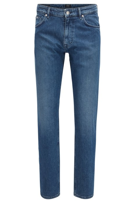 HUGO BOSS Jean Relaxed Fit en denim italien foncé zw3N7Va