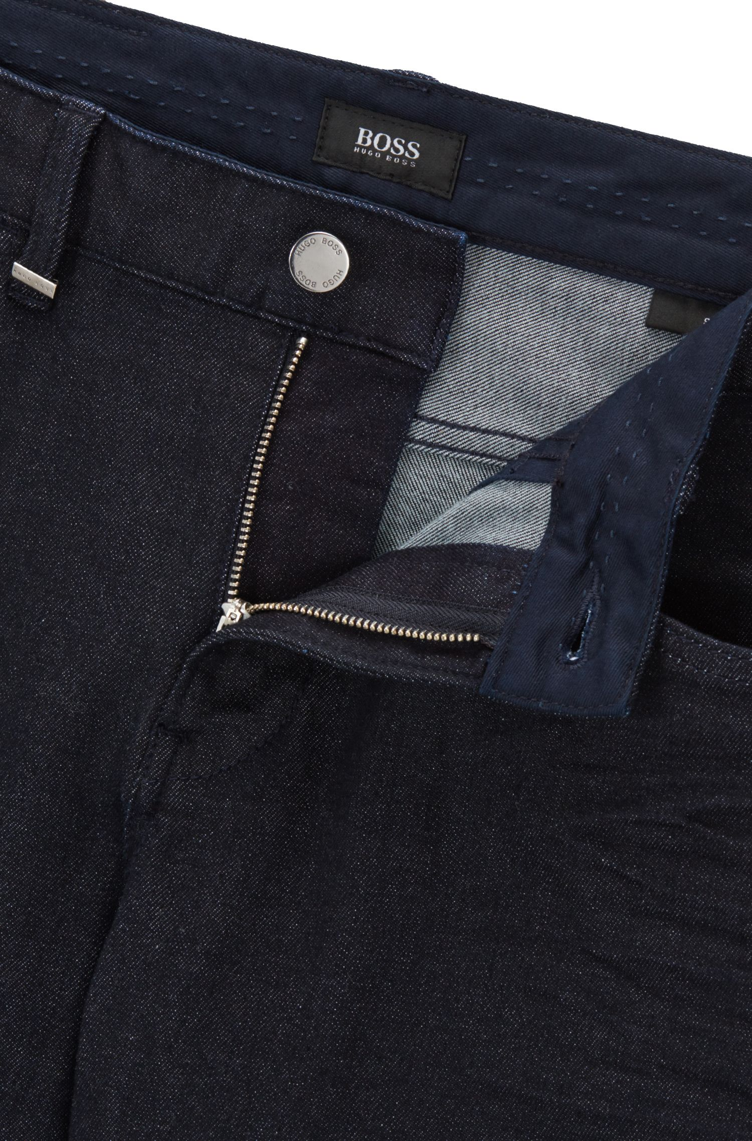 Slim-fit jeans van Japans denim
