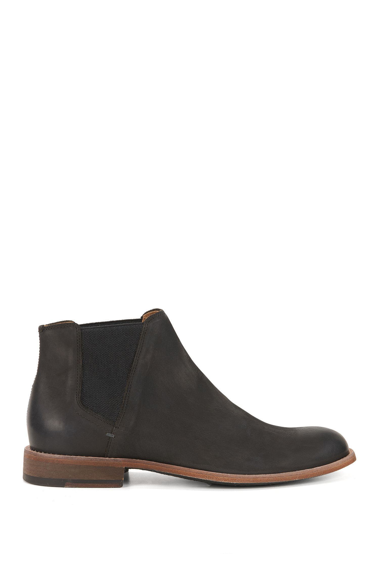 Chelsea boots in smooth nubuck