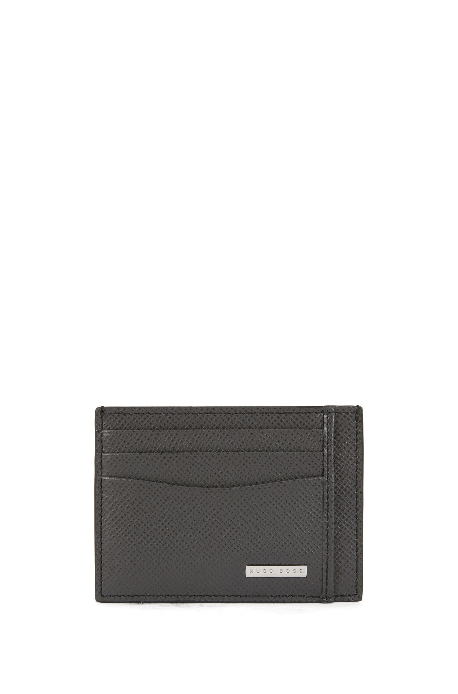 Porte-cartes Signature Collection, en cuir palmellato
