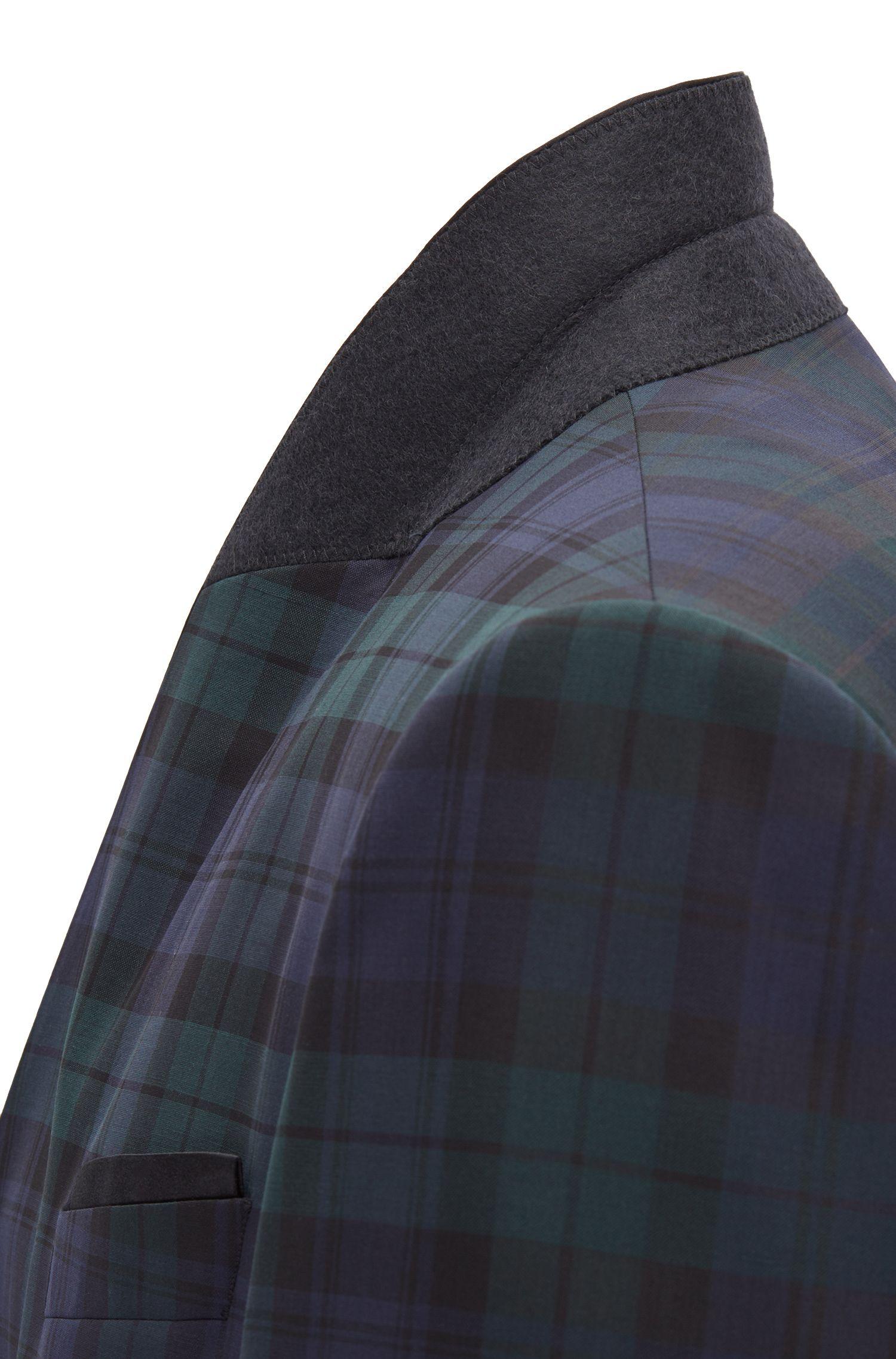 Smoking slim fit in lana vergine