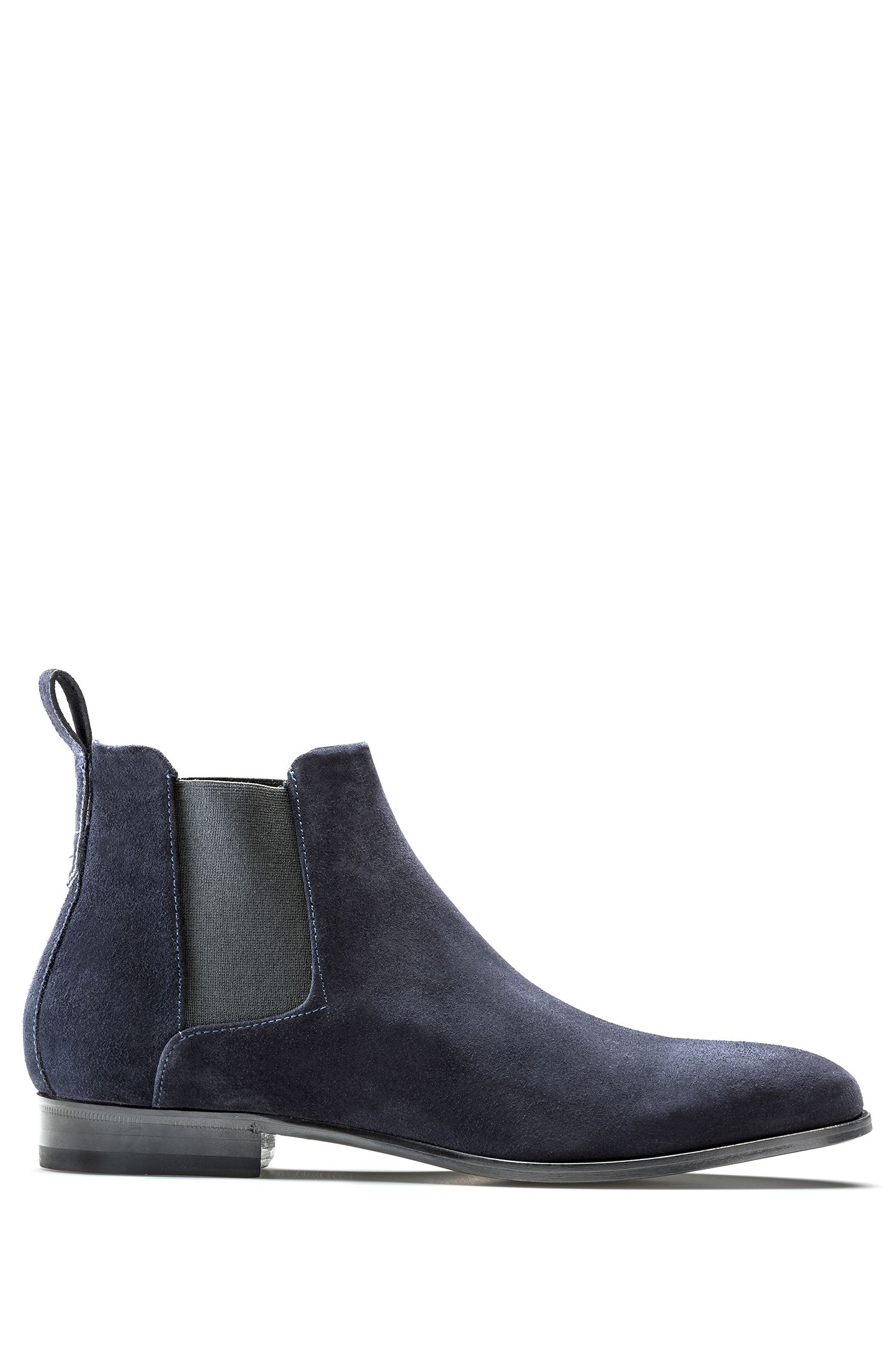 Chelsea boots in soft leather