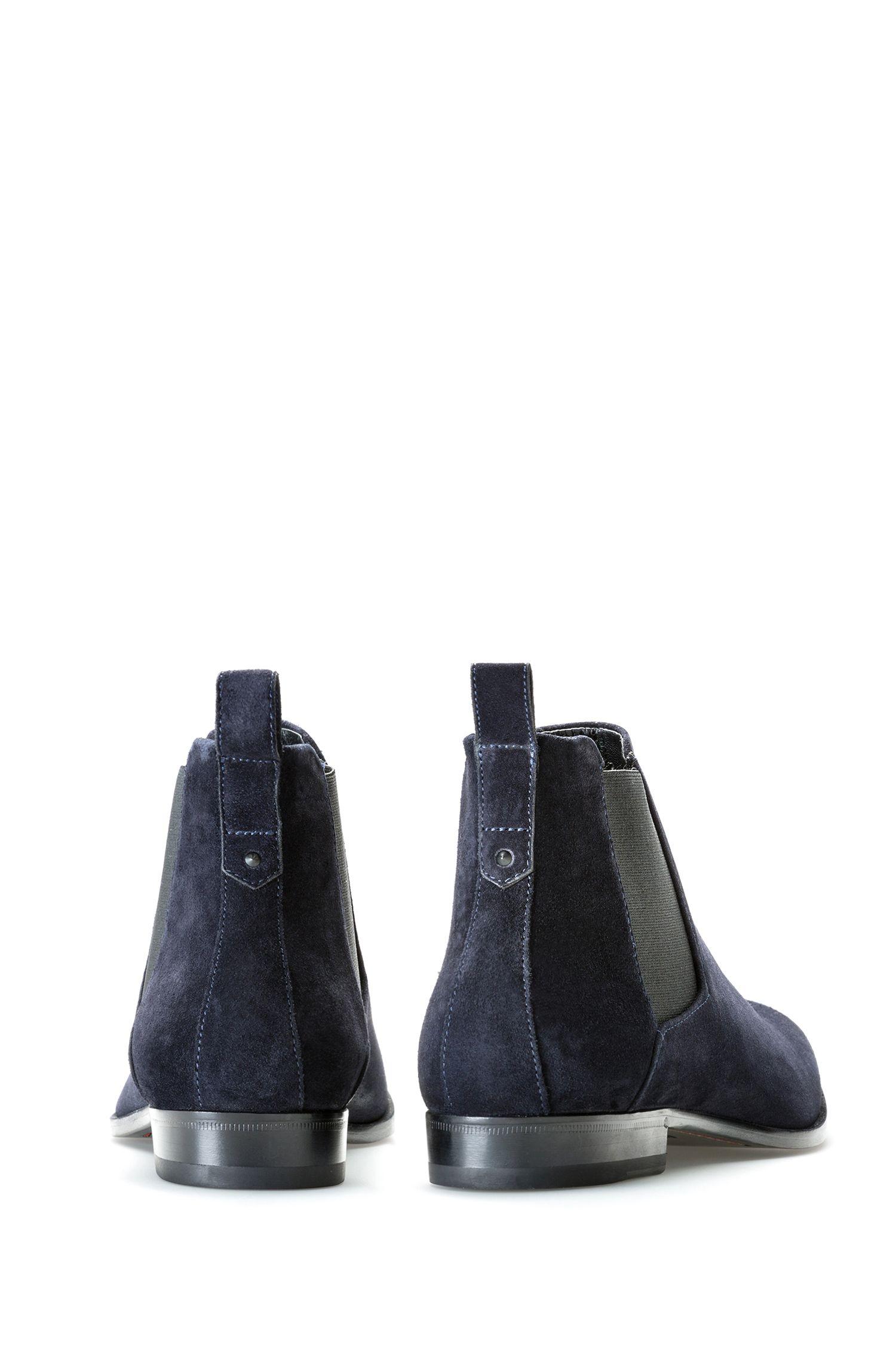 Chelsea Boots aus weichem Veloursleder