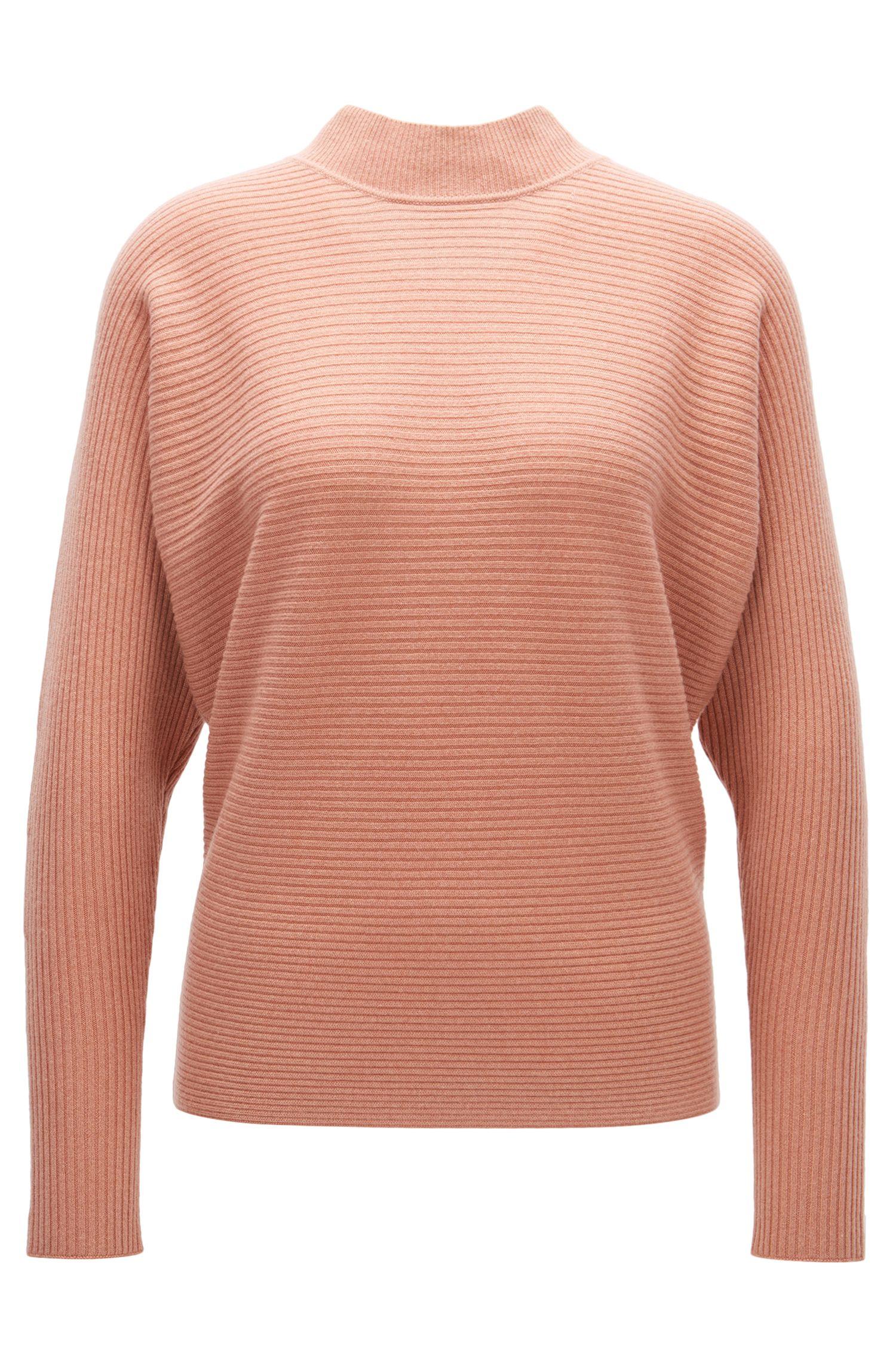 Gerippter Relaxed-Fit Pullover aus reinem Kaschmir