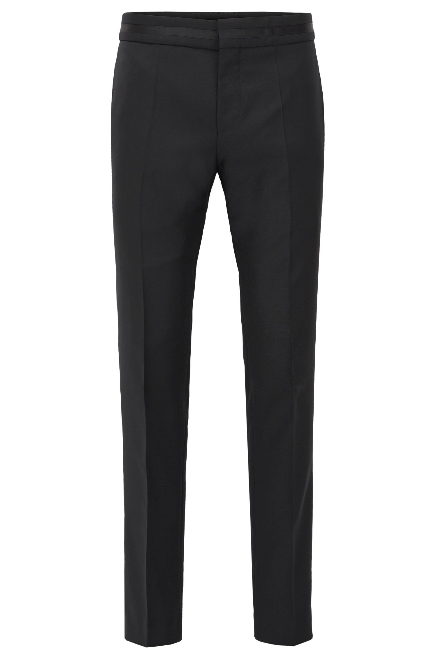 Pantalon business Slim Fit en laine vierge