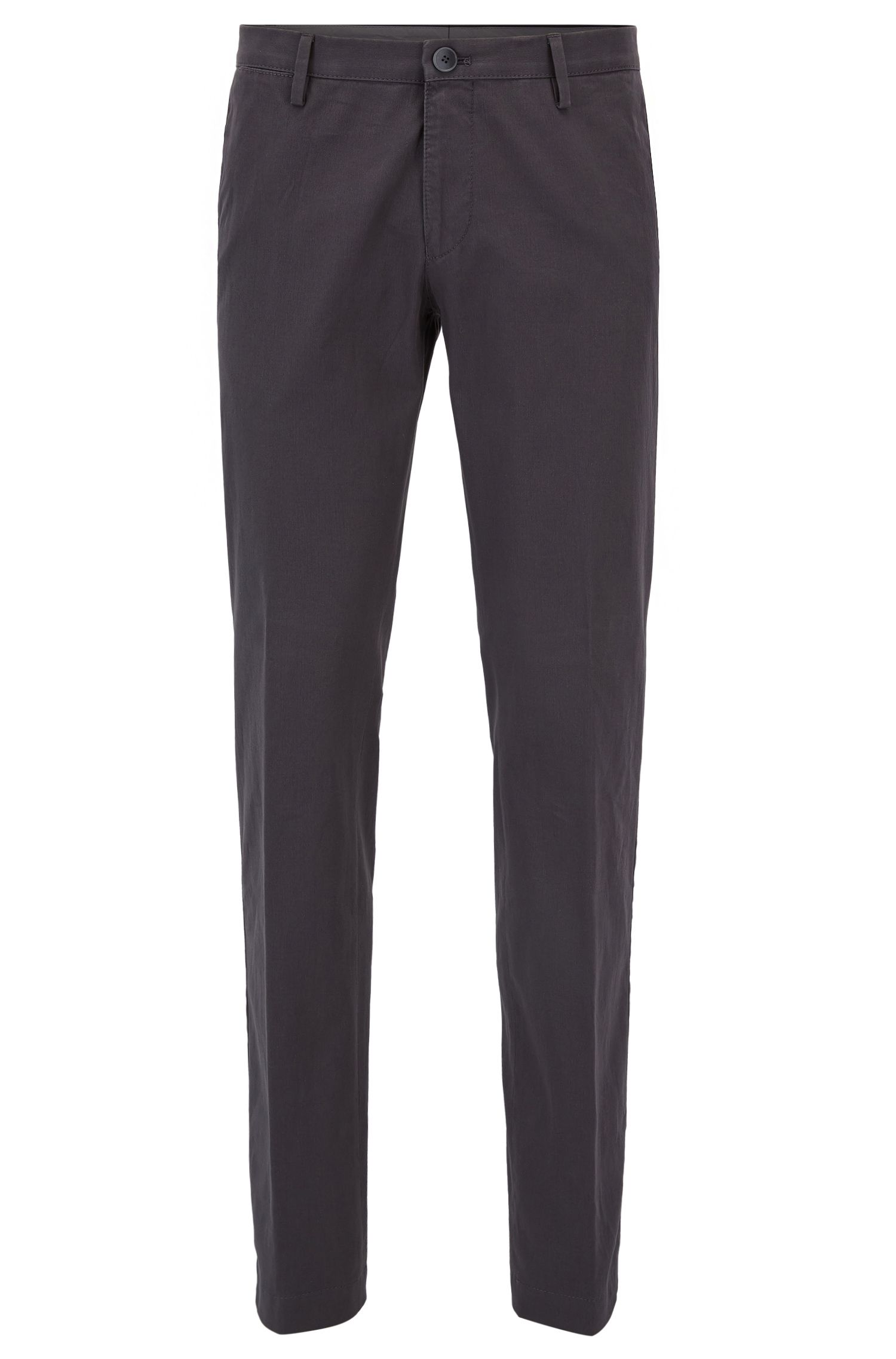 Pantalon Slim Fit en coton stretch