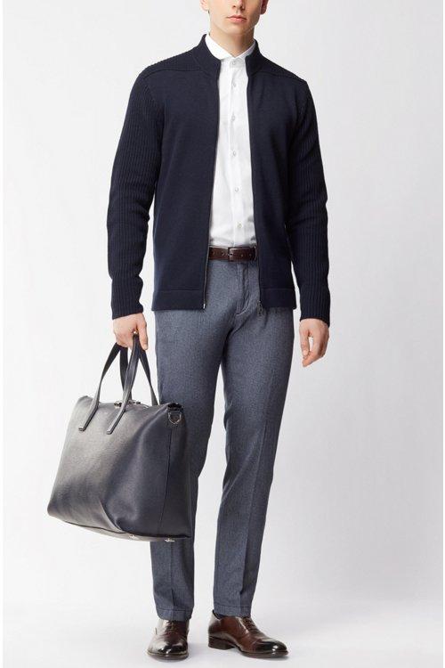 Hugo Boss - Slim-Fit Hemd aus fein strukturierter Baumwolle - 2