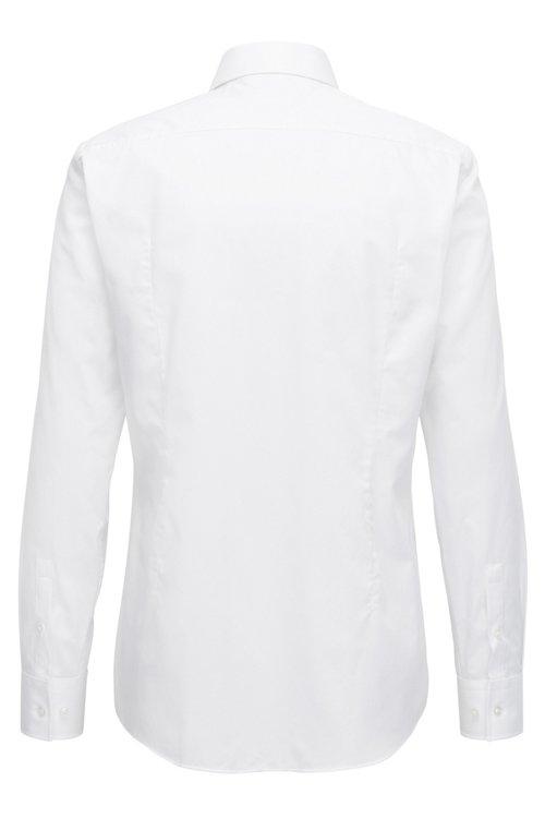 Hugo Boss - Slim-Fit Hemd aus fein strukturierter Baumwolle - 3