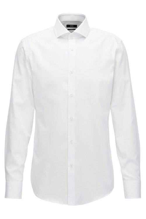 Hugo Boss - Slim-Fit Hemd aus fein strukturierter Baumwolle - 1