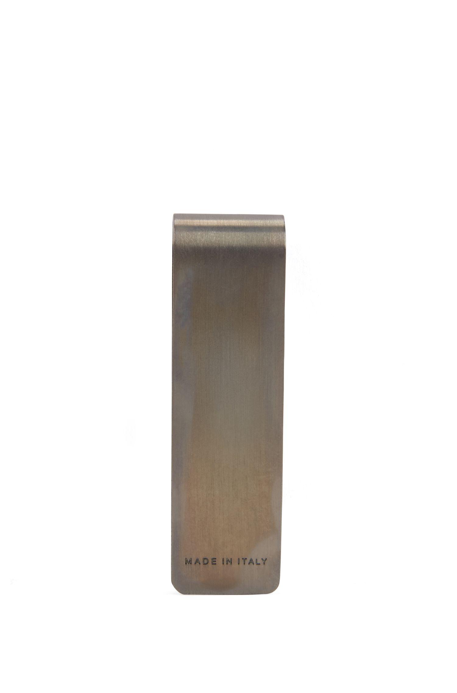 Pince à billets métallique avec rayures en émail l4YfR4iu0F