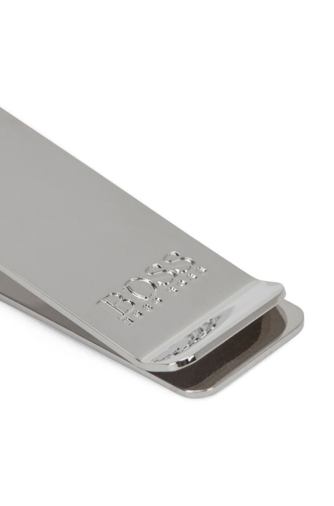 Money clip in palladium hardware