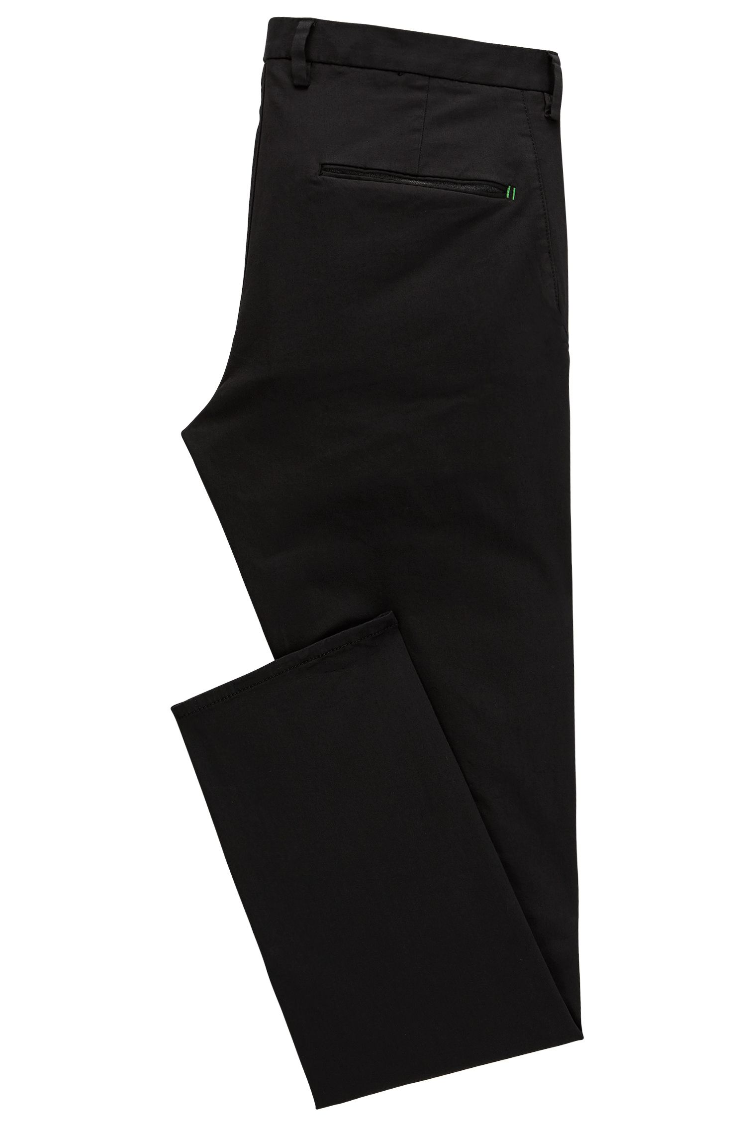 Chino Slim Fit en satin stretch