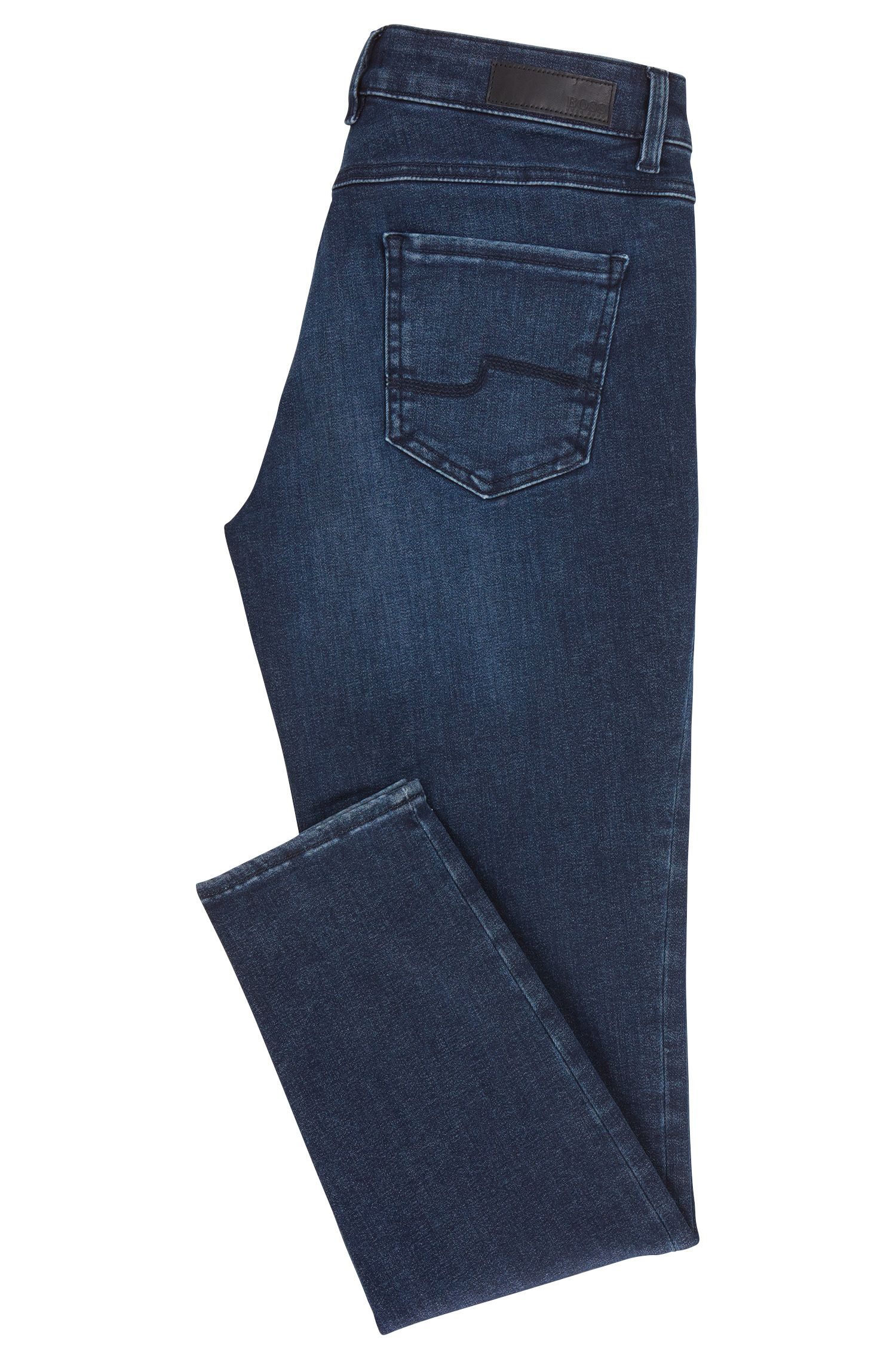 Jean Regular Fit en denim stretch structuré
