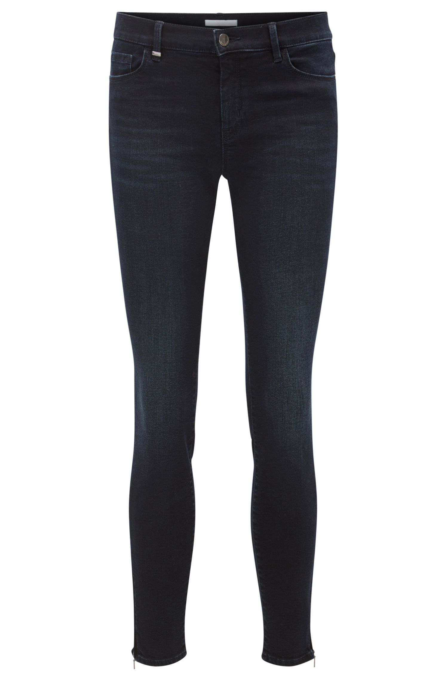 Jean Slim Fit super stretch zippé sur le bas