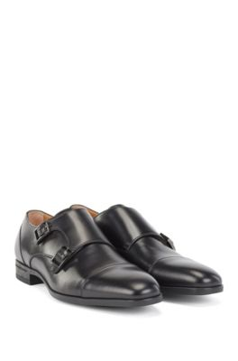 748c62054d6d4 Double-monk shoes in vegetable-tanned leather