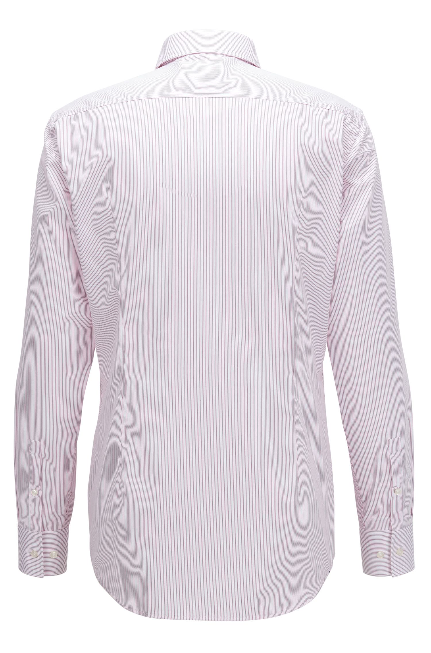 Chemise Slim Fit en coton à rayures
