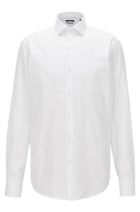 HUGO BOSS Chemise Regular Fit en sergé de coton à carreaux WQRMJNcx