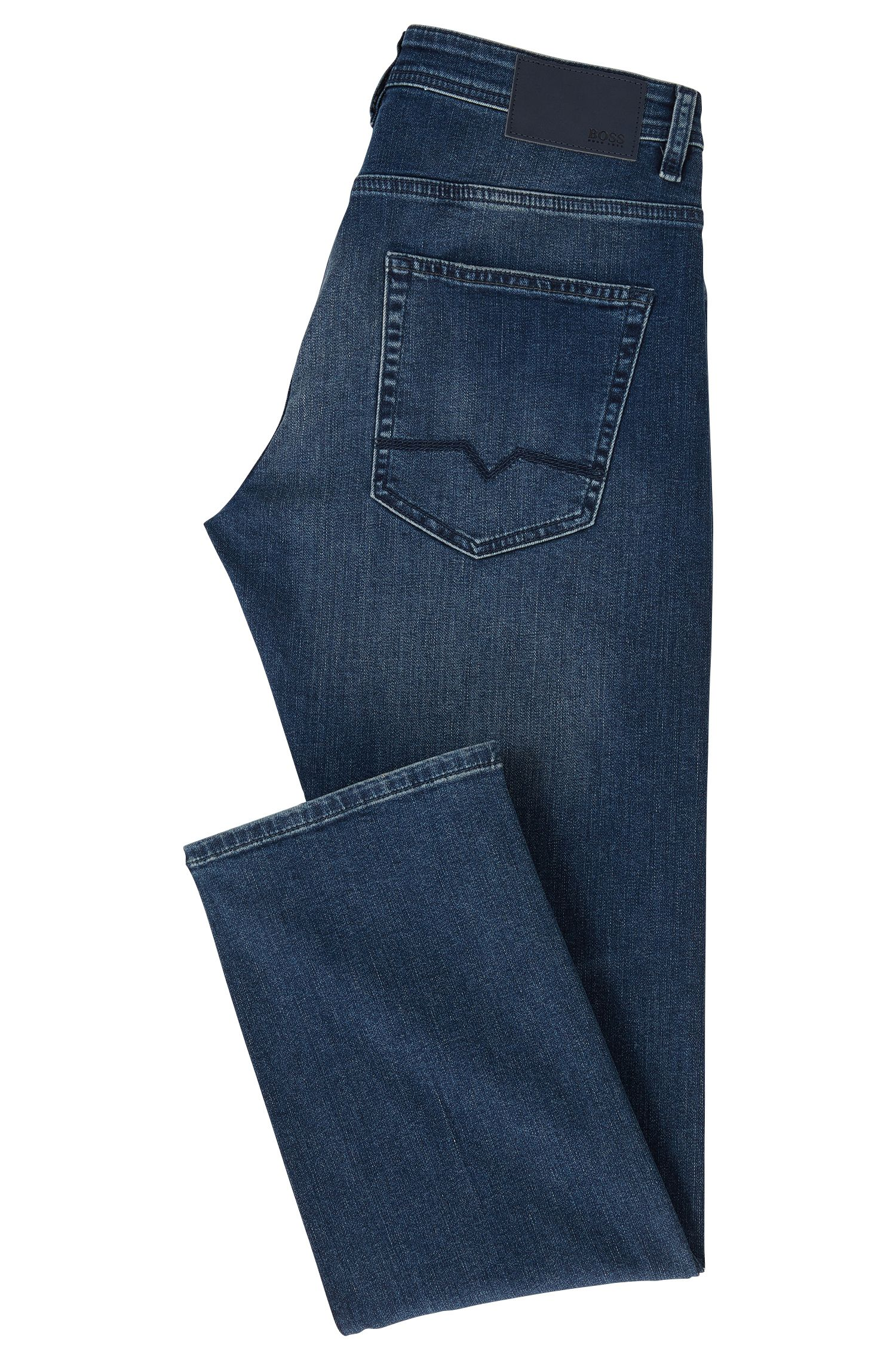 Relaxed-Fit Jeans aus komfortablem Stretch-Denim