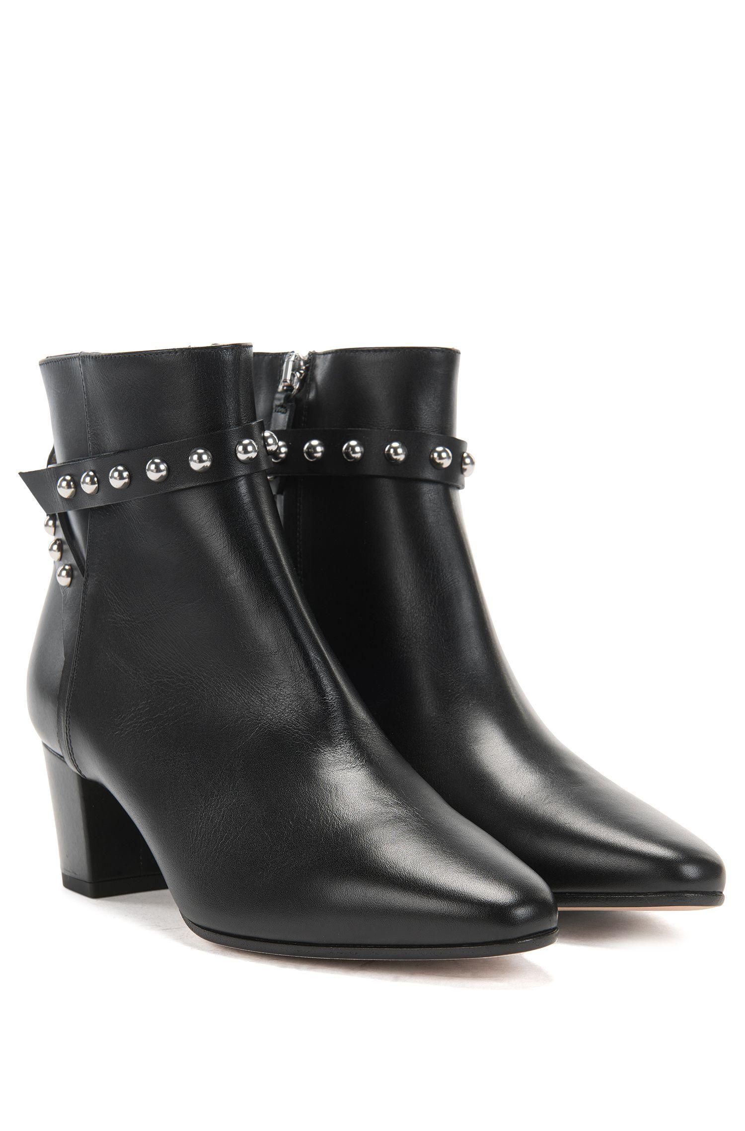 HUGO BOSS Women's Shoreditch Bootie-C Ankle Boots
