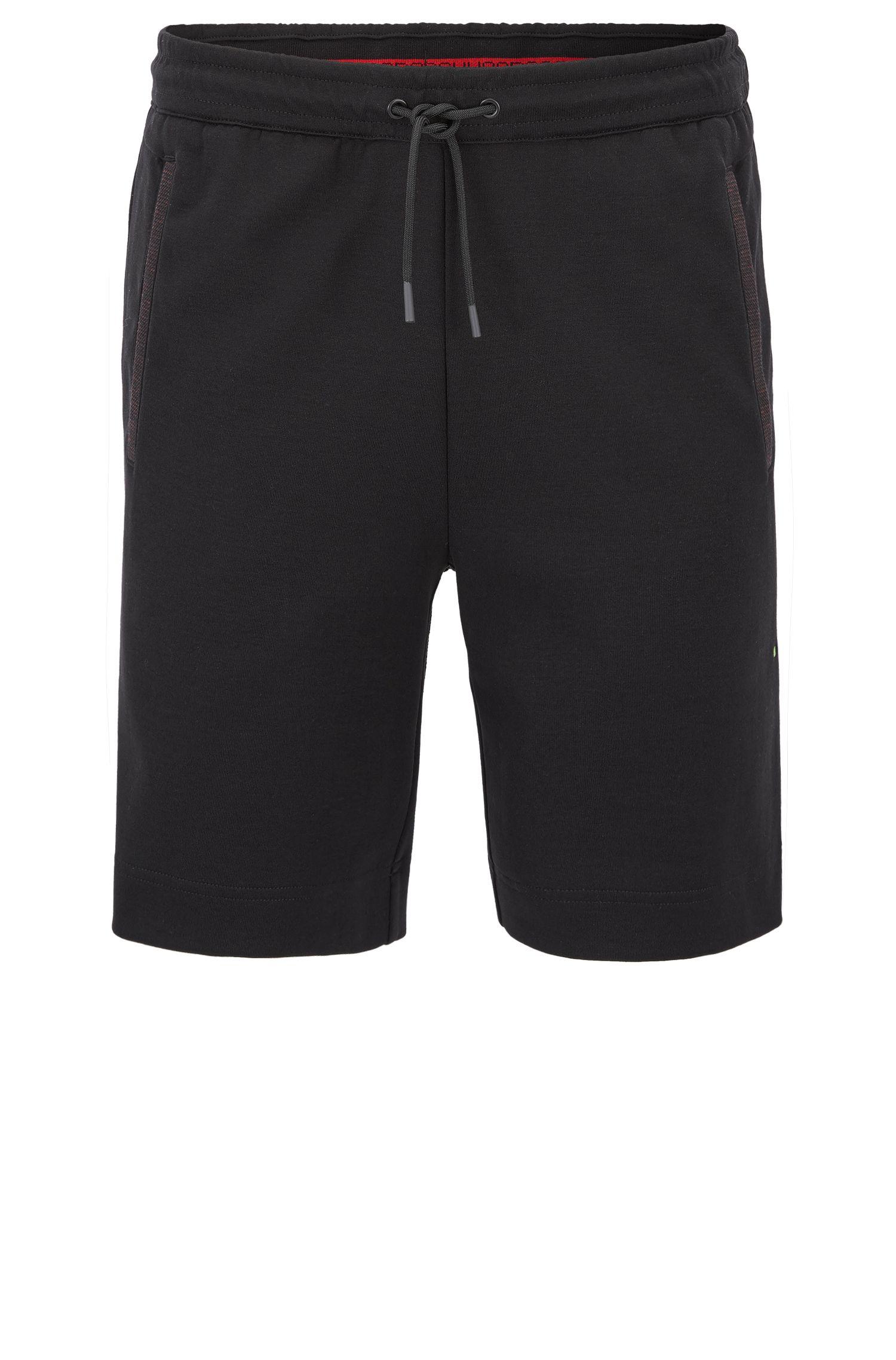 Shorts de chándal en mezcla de algodón