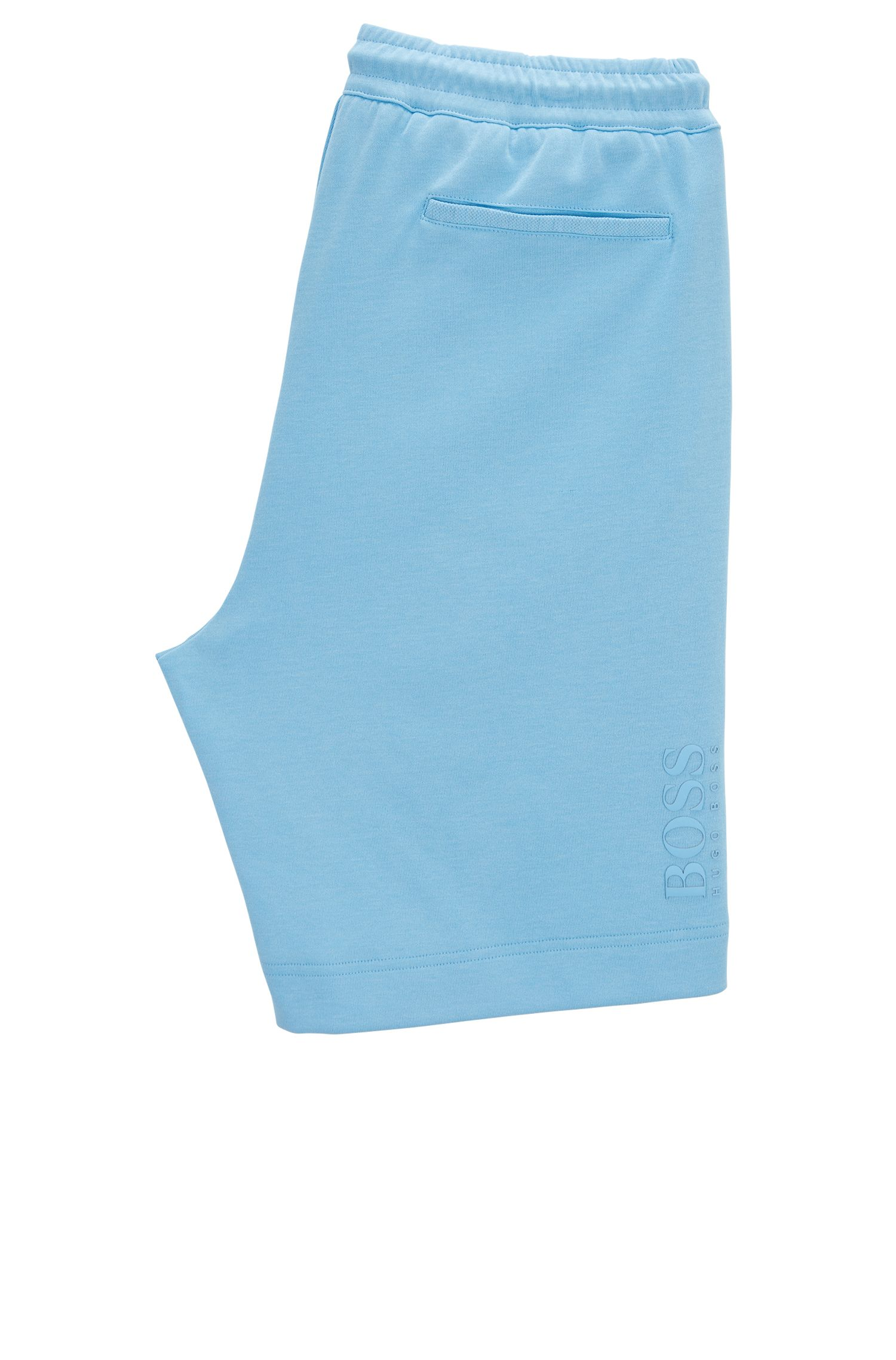 Jogging shorts in a cotton blend