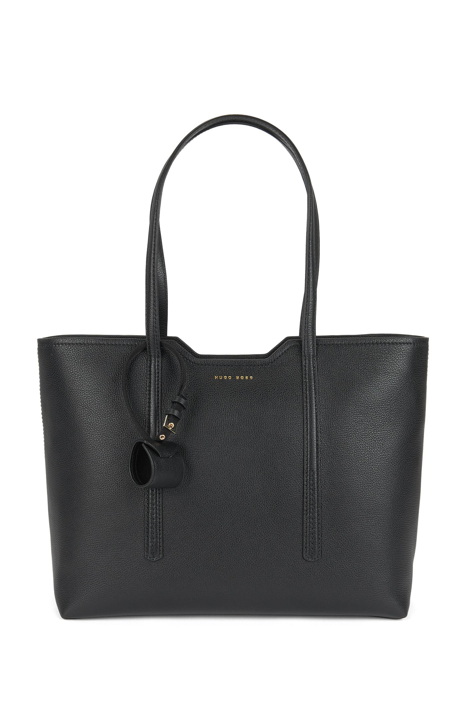 Borsa shopper in pelle italiana