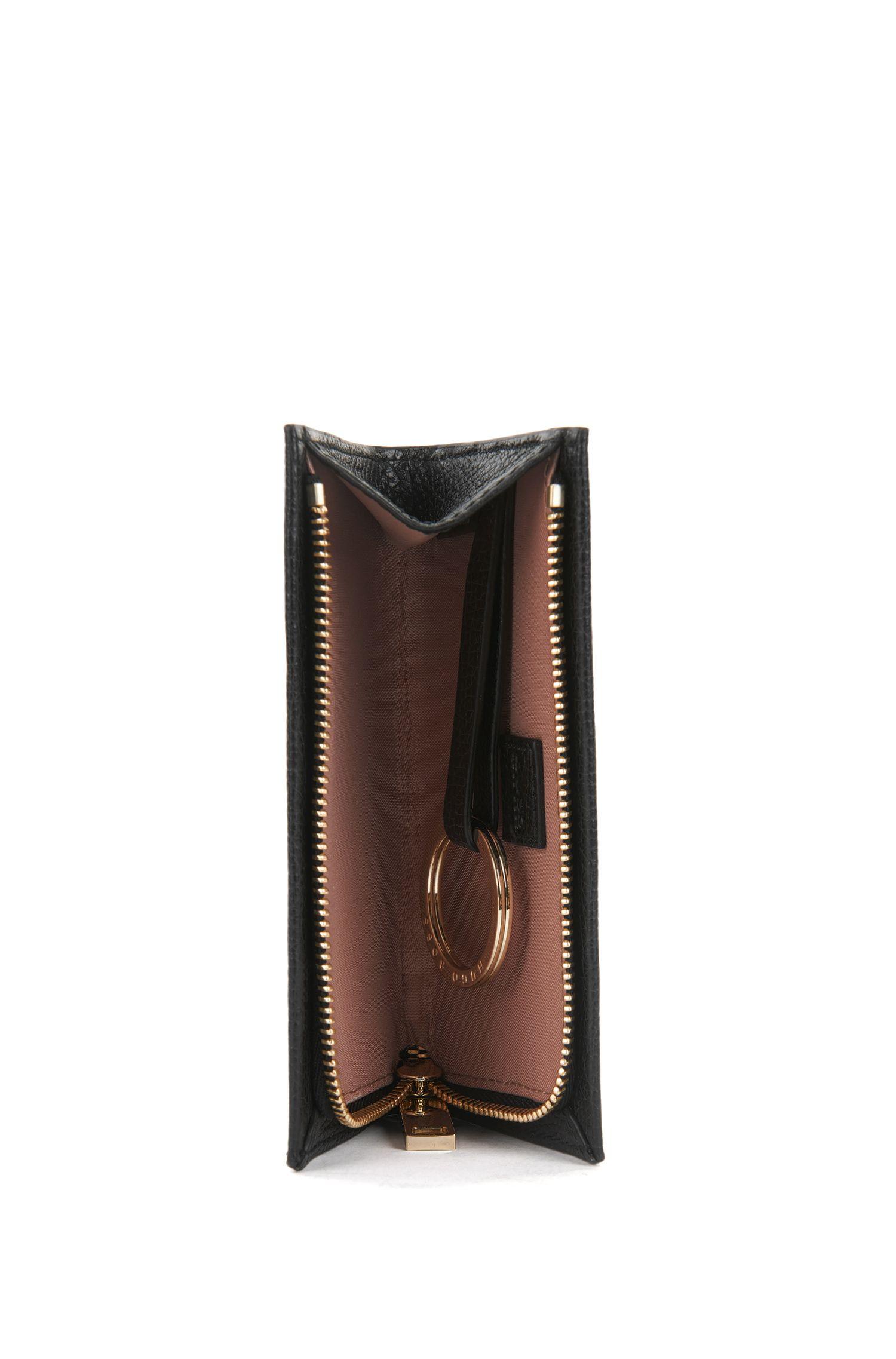 Schlüsseletui aus genarbtem italienischem Leder