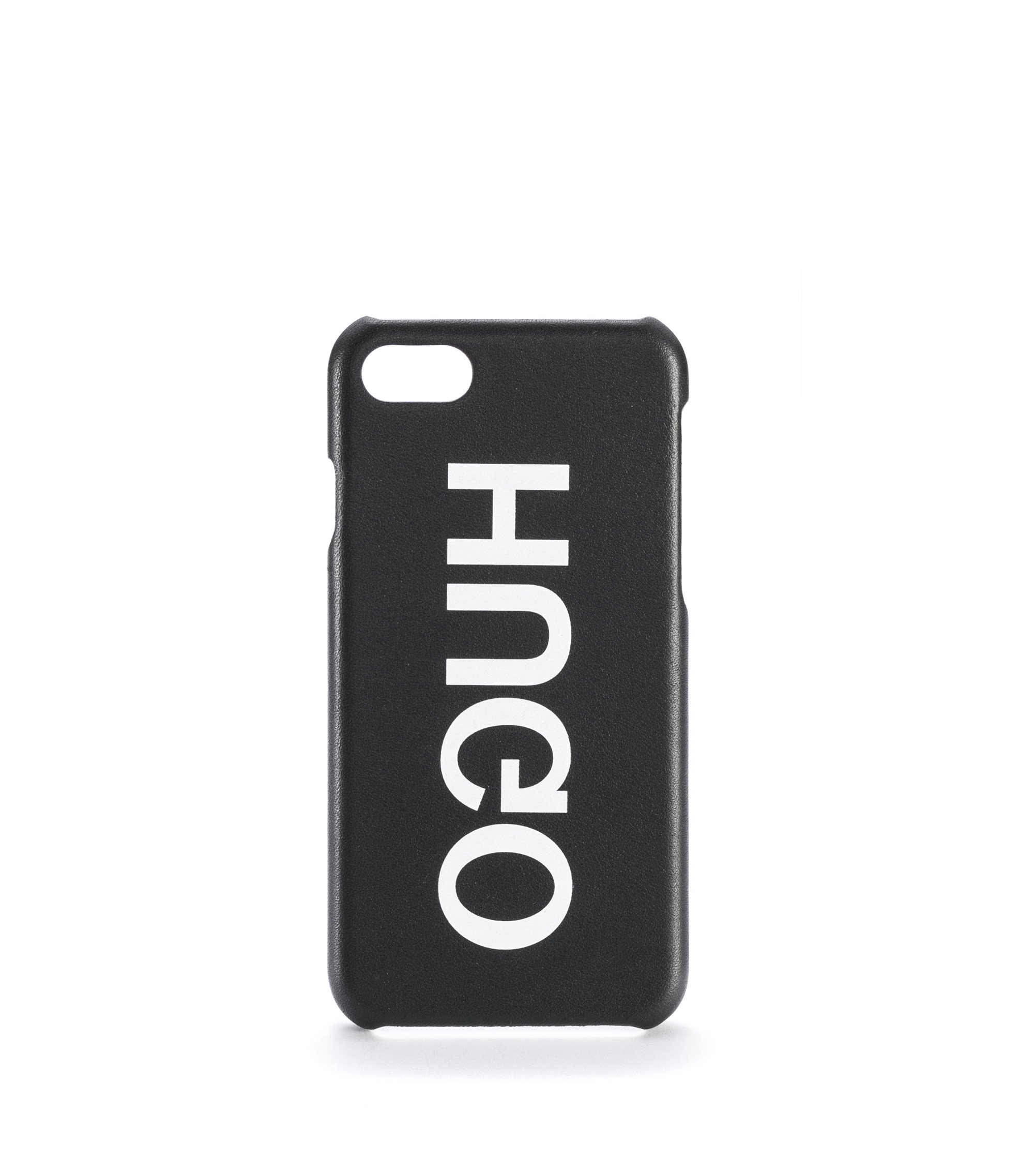 Funda de iPhone 7 con logo invertido, Negro