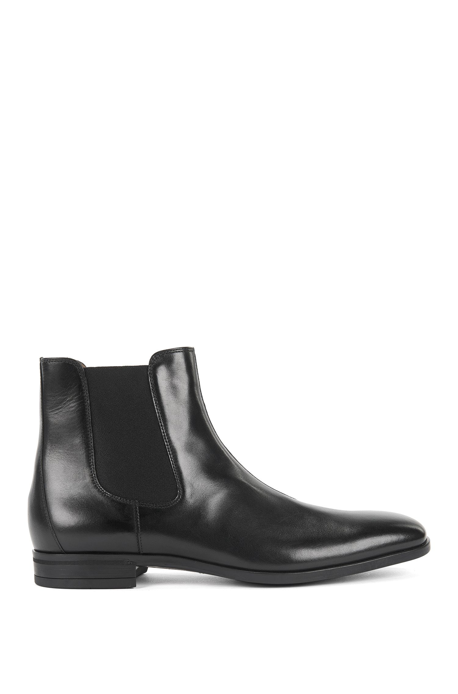 Chelsea boots in vegetable-tanned leather