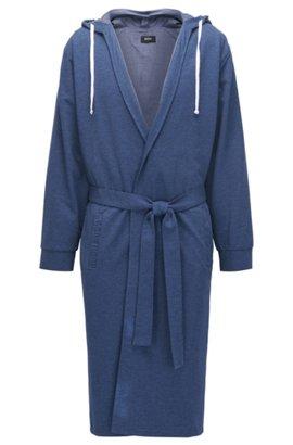 HUGO BOSS Peignoir en jersey simple de coton brossé jv0NwLgNF