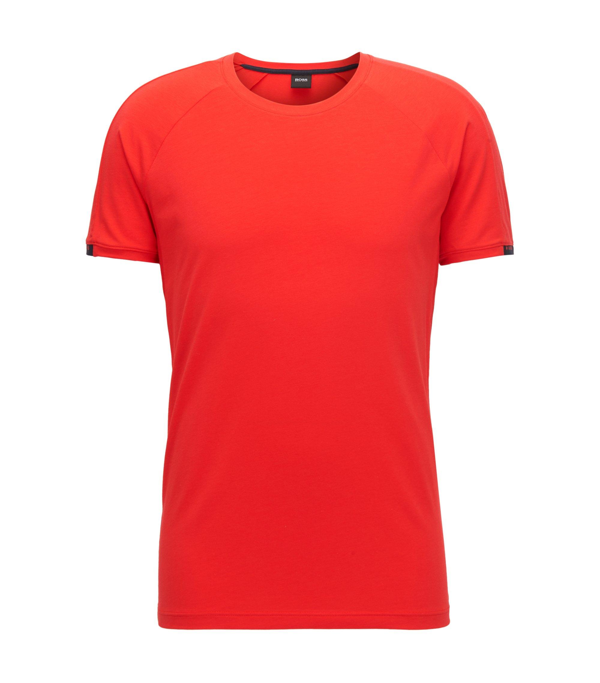 Ondershirt met ronde hals, van single jersey met stretch, Rood