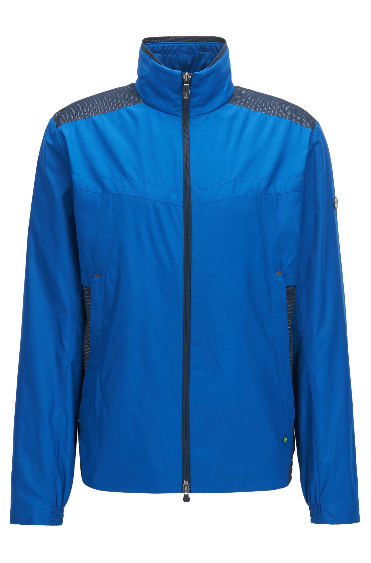 Wasserabweisende Jacke mit Schutz vor elektromagnetischen Strahlen