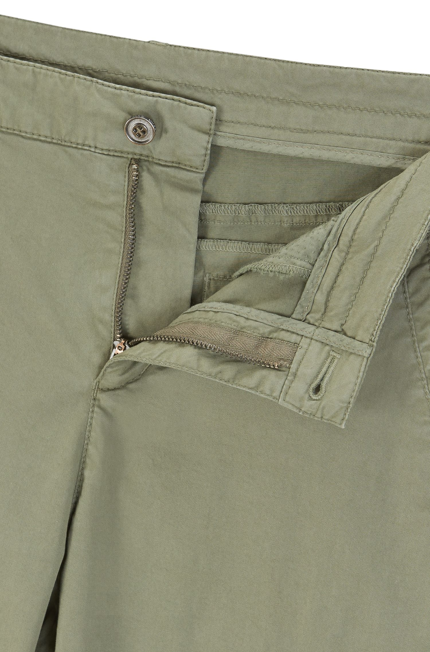 Pantalon cargo Slim Fit en coton stretch