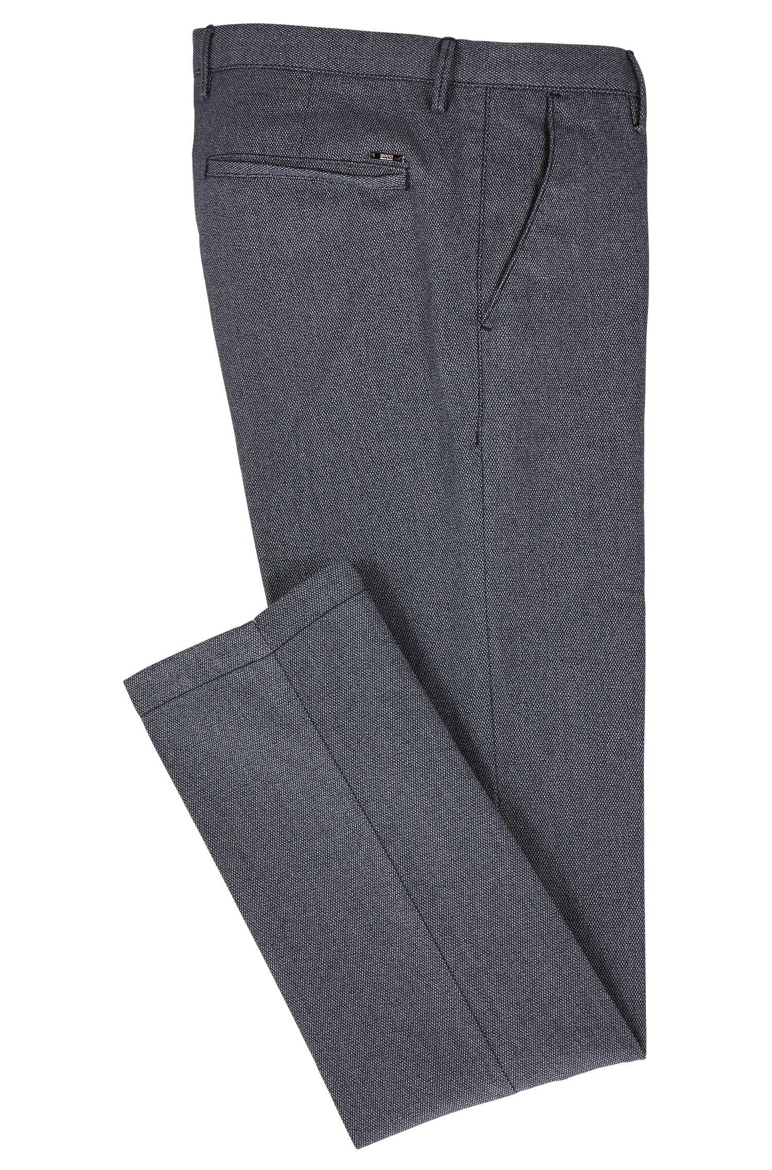 Chino slim fit in cotone in tre tonalità