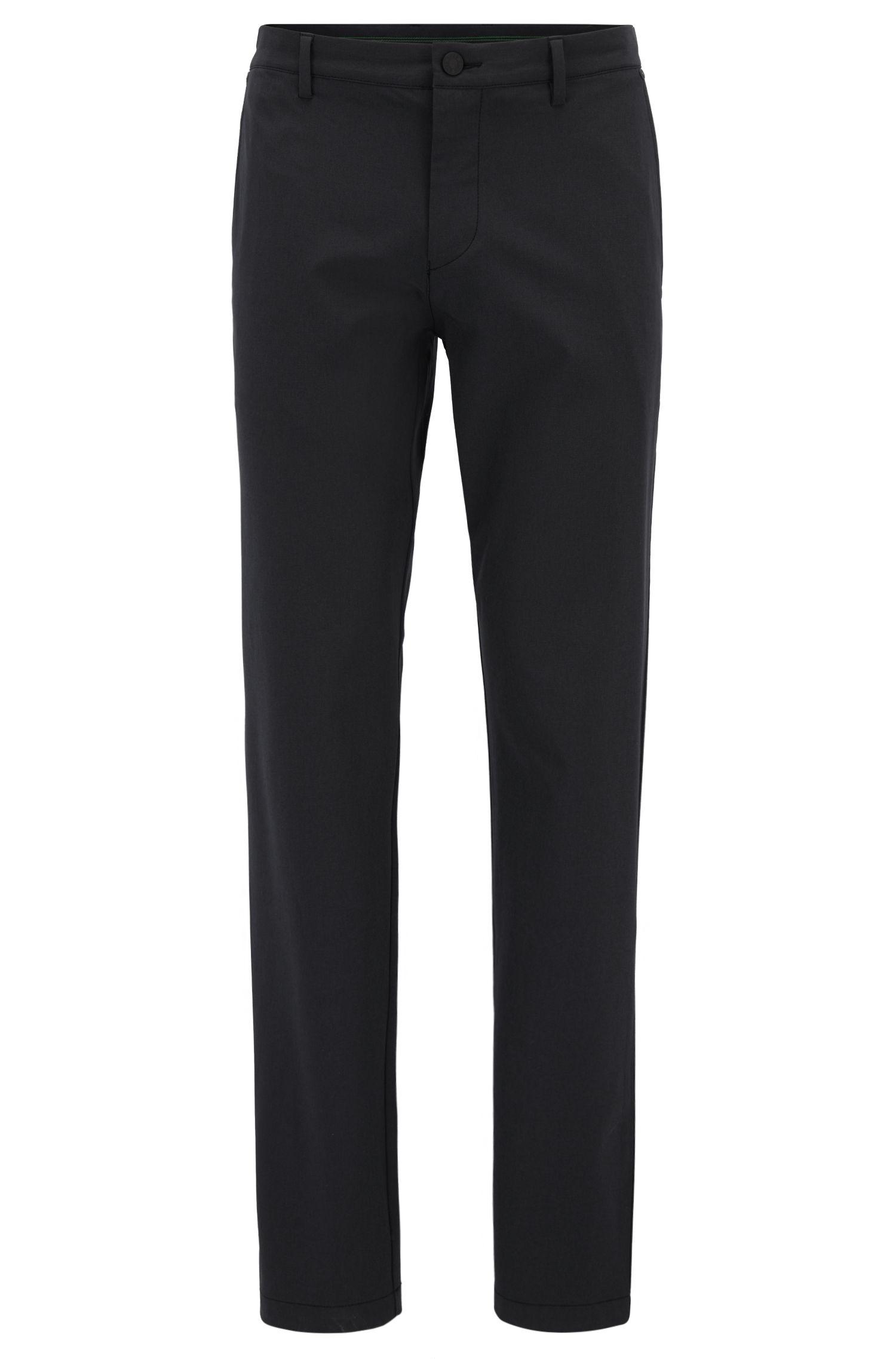 Extra Slim-Fit Hose aus elastischem Material-Mix