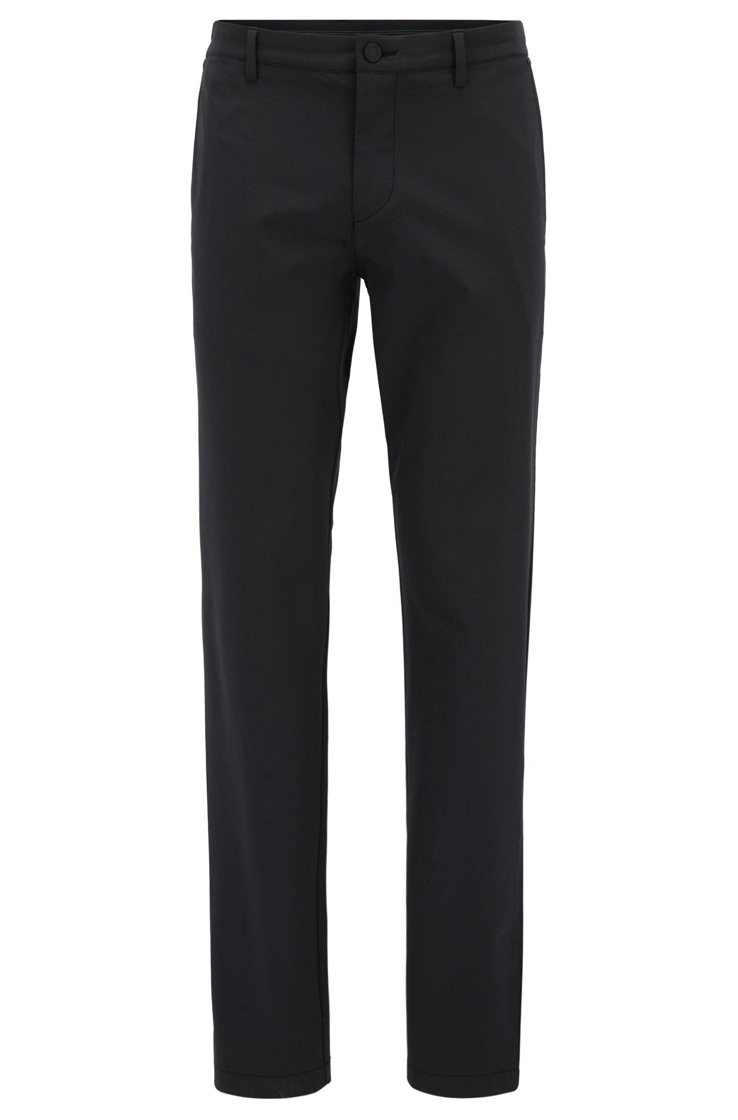 Extra-slim-fit trousers in stretch technical fabric