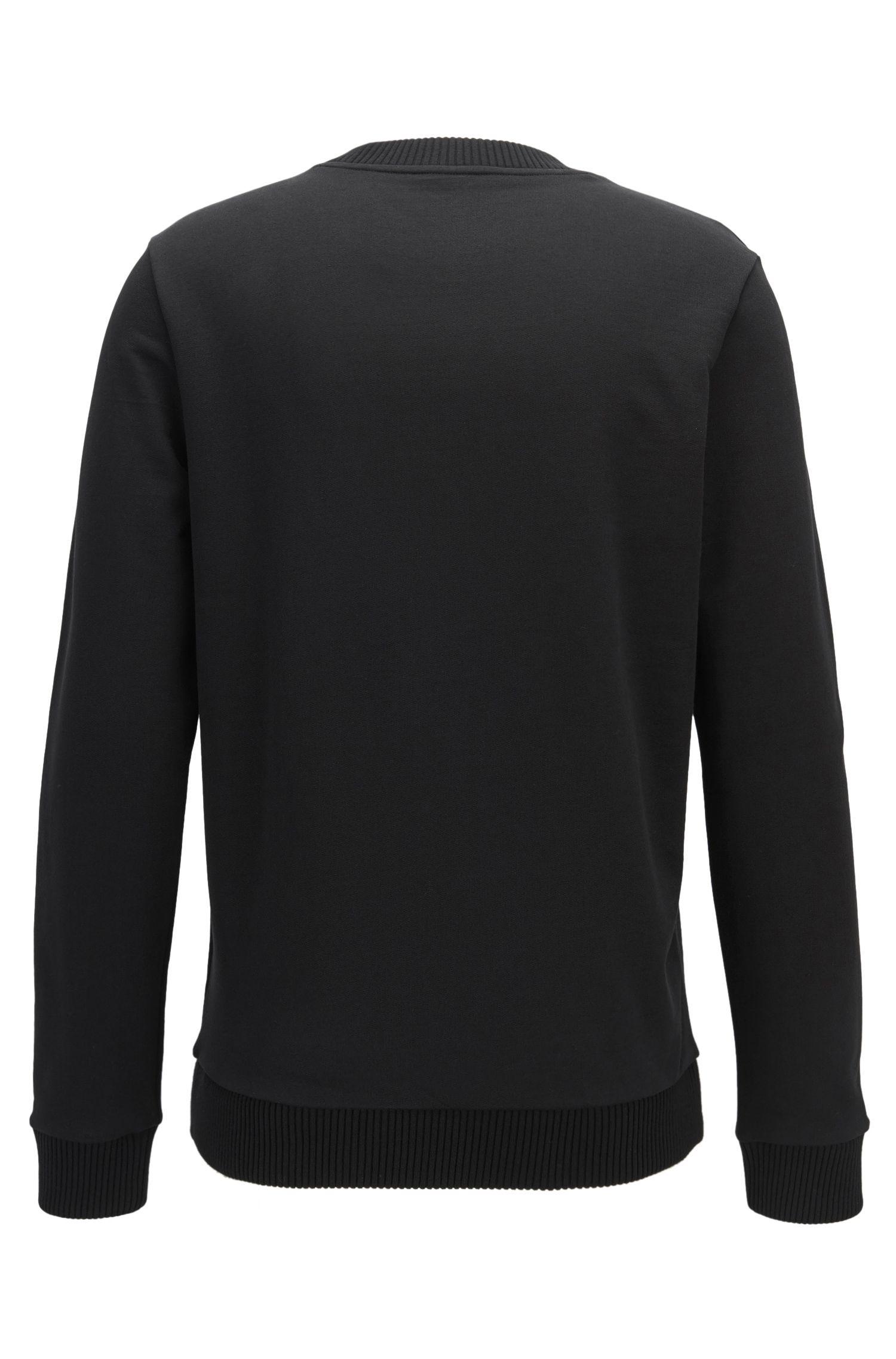 Pullover aus Baumwolle mit Rennwagen-Motiv