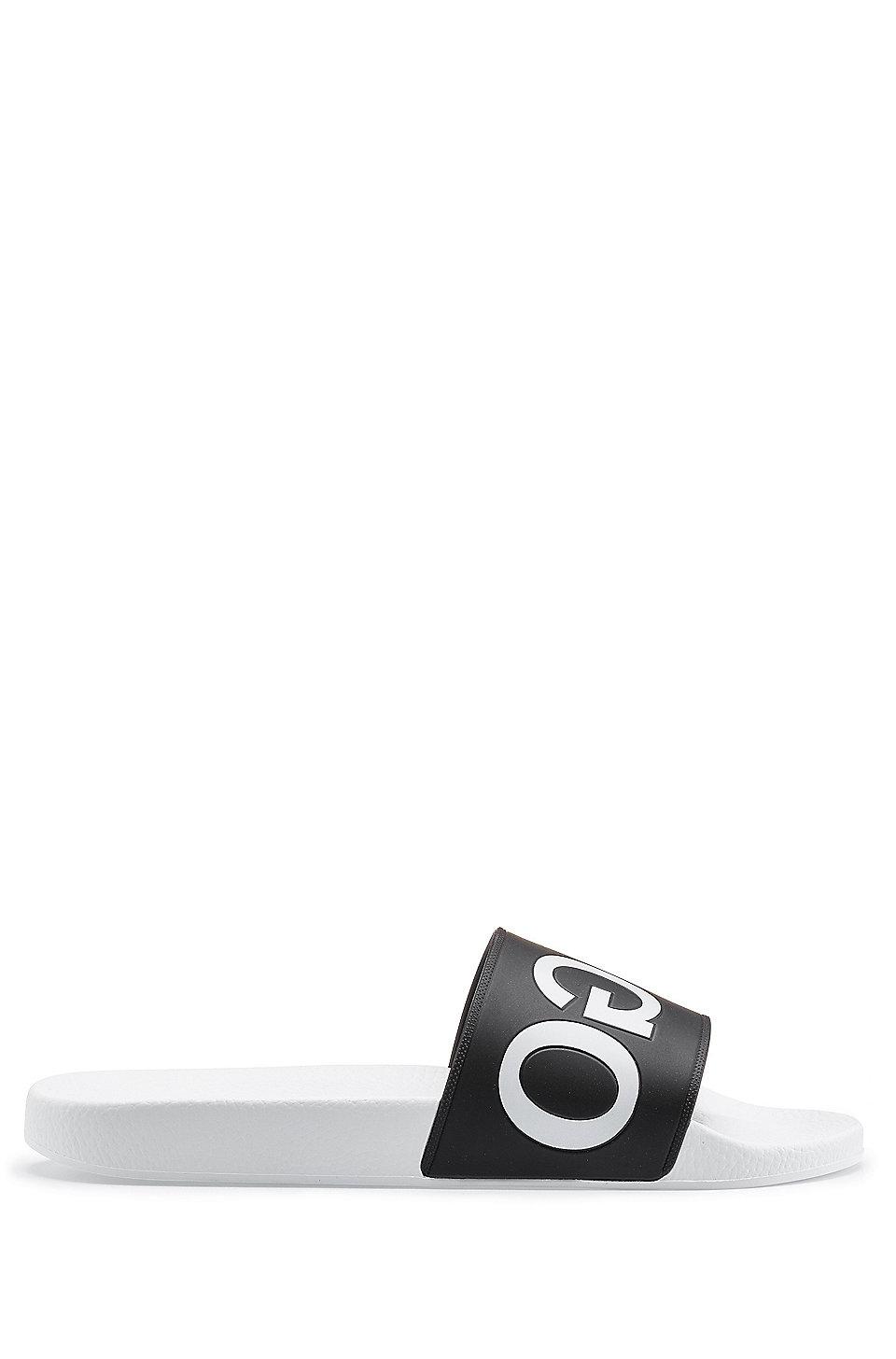 4fed126f42e HUGO - Reverse-logo pool sliders